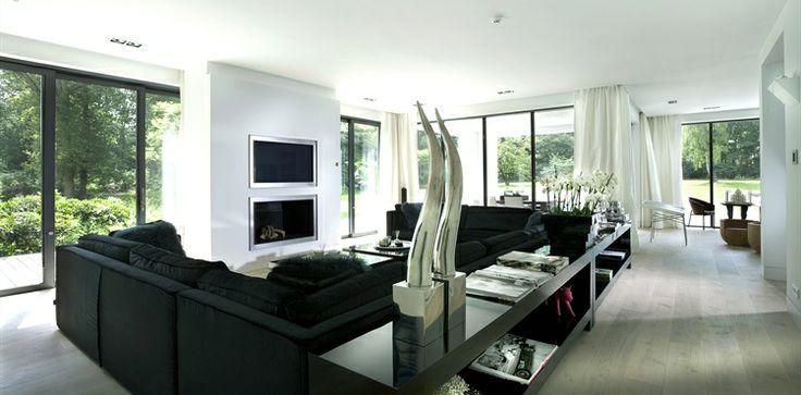 Jan des Bouvrie, living room style