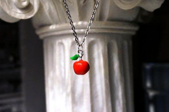 Red Apple Pendant Adam and Eve style wedding от SteampunkBDSM