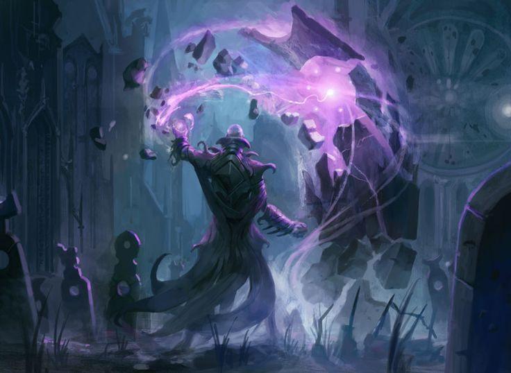 "Wrath Barrier"" / moderate defense, low backlash, feeds on mana. | Fantasy  concept art, Art, Magic art"