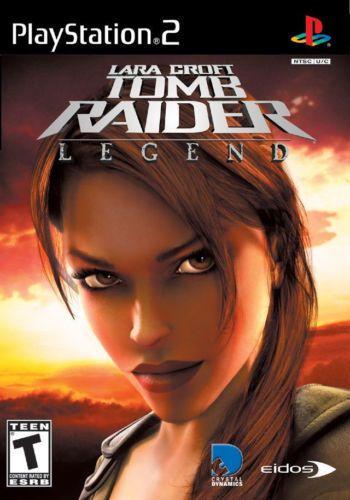Laura Croft Tomb Raider Legend - PS2 Game