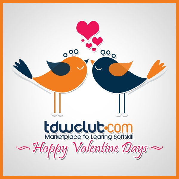 happy Valentine from tdwclub.com