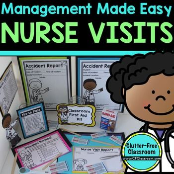 NURSE PASS and More: Passes, Notes to Parents, Donation Requests - This 14 page resource helps ensure boo boos and children requesting a trip to the school nurse don't disrupt the learning in your classroom or take up valuable teaching time. Use this to help minimize distractions and save you time in your preschool, Kindergarten, 1st, 2nd, 3rd, 4th, 5th, or 6th grade classroom!
