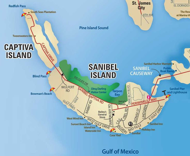 Sanibel Island Map Printable | ... Sanibel, Captiva, Naples, Marco Island, Everglades City, Bonita