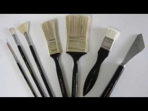 New Kevin Hill Brush Line! - YouTube
