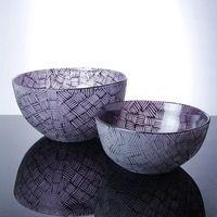 Purple Bowl Set, Musk