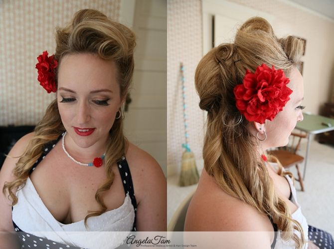17 Best images about Wedding Bride Hair - Down Do & Half Up on ...