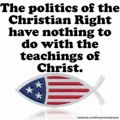 As a matter of fact, they are the opposite of Christian teachings.