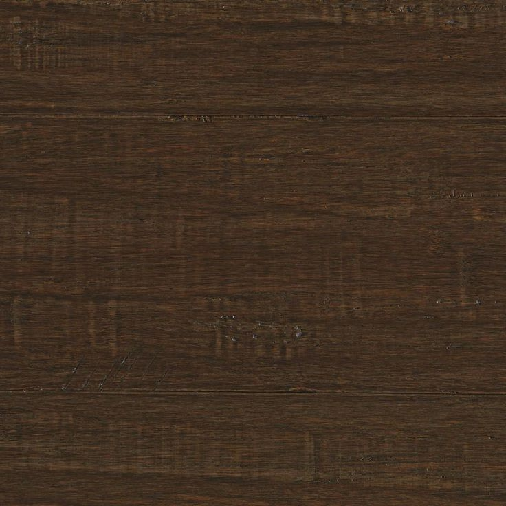 Handscraped Strand Woven Ceruse 3/8 in. T x 5-1/8 in. W x 72-7/8 in. L Engineered Bamboo Flooring (25.88 sq. ft. / case), Dark Grey
