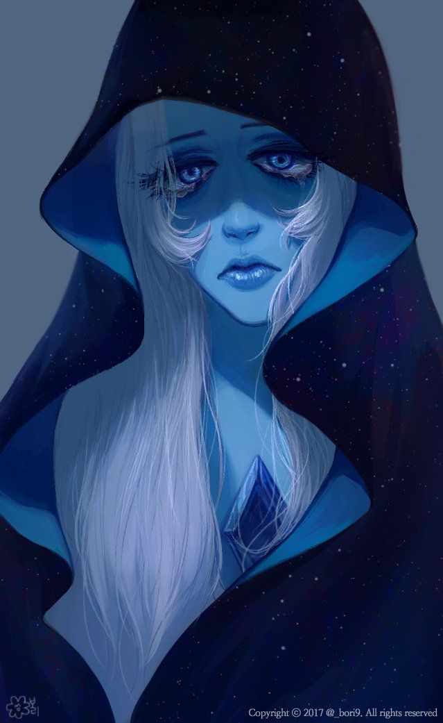 I don't watch SU, but I like this. Pretty Blue Diamond. :)