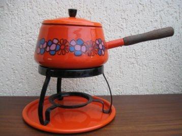 Vintage fondueset van Brabantia (Diane)...
