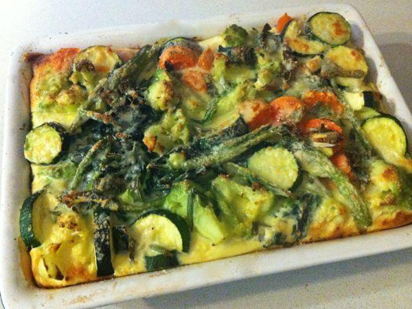 sformato di verdure al forno