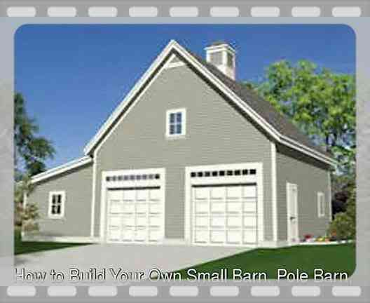 Building your own pole barn woodworking projects plans for Build your own pole barn