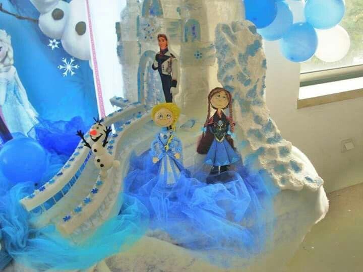 """Decoração Frozen da Matilde, que festejou 4 aninhos. Local restaurante """"Os Lusiadas"""" de Constância. Reserve agora a sua antes de esgote..."""