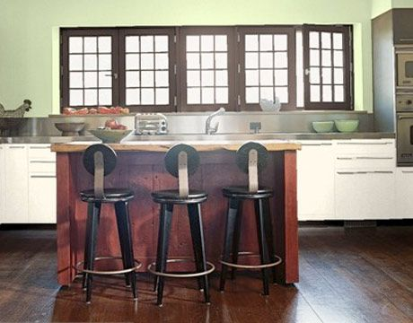 Laduree Green - Fine Paints of Europe P1130. A kitchen possibility.