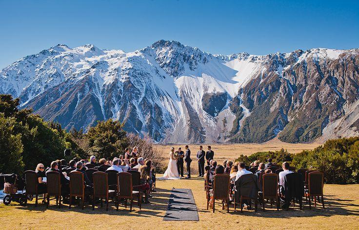 Aoraki Mt Cook Weddings, New Zealand www.theweddingcompany.co.nz