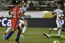 Mexico 0 Chile 7 in 2016 in Santa Clara. Edson Puch scored on 88 minutes to make it 7-0 in the Quarter Final at Copa America.