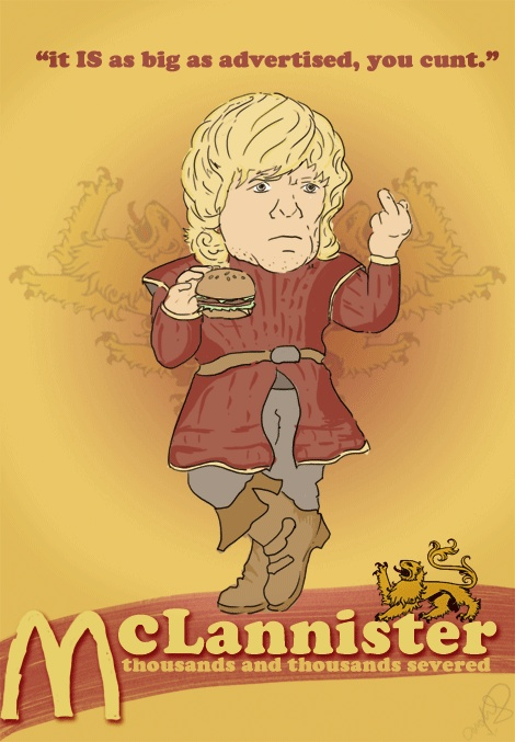 McLannister: Young Wolf, Valar Morghulis