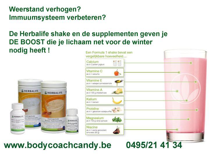 Voedingswaarde maaltijdvervangende shake Bestellen kan via https://www.bodycoachwebshop.be/herbalife