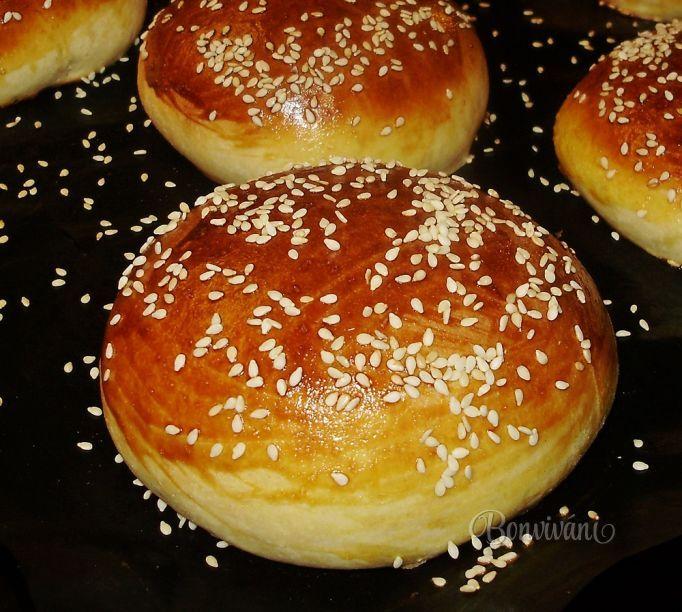 Hamburgerové žemle • bonvivani.sk