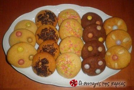 Τα μπισκότα με τα 3 υλικά και τις αμέτρητες παραλλαγές.