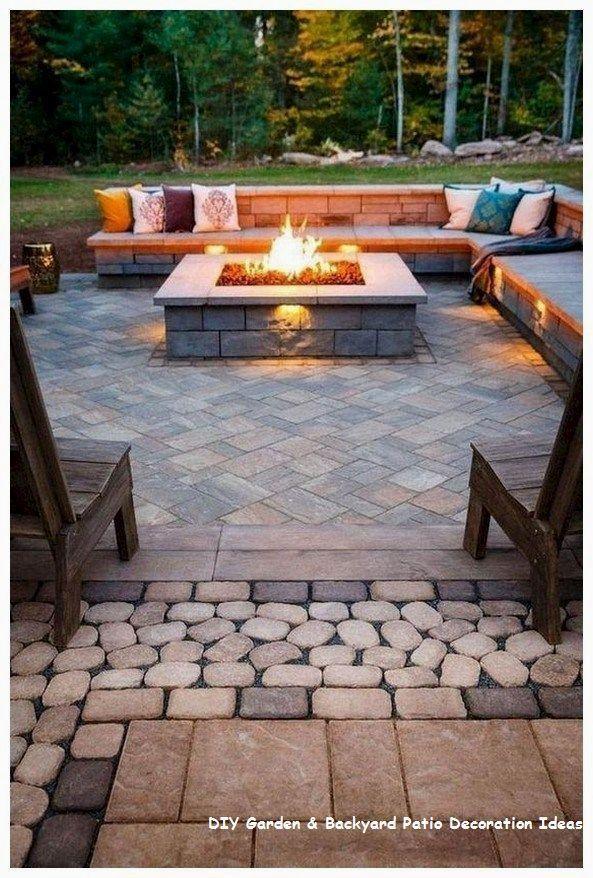 Simple Pergola Patio Decor Ideas In 2020 Backyard Patio Designs Backyard Fire Outdoor Fire Pit
