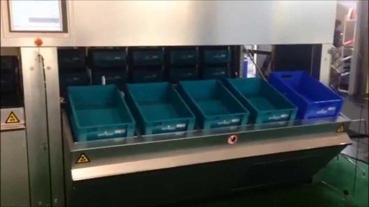 CeMat exhibition 2014: Lars Ahlberg viser en lagerautomater EffiMat® | E...