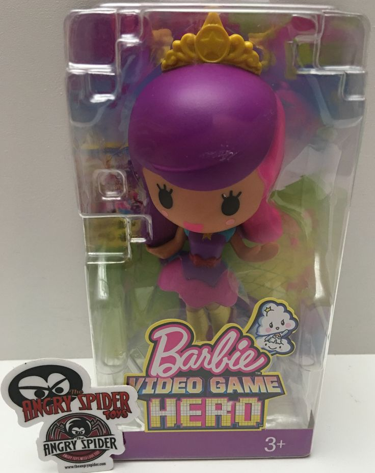 This just in at The Angry Spider Vintage Toy Store: (TAS036017) - 201...  Check it out here! http://theangryspider.com/products/tas036017-2016-mattel-barbie-video-game-hero-skating-friend-doll?utm_campaign=social_autopilot&utm_source=pin&utm_medium=pin