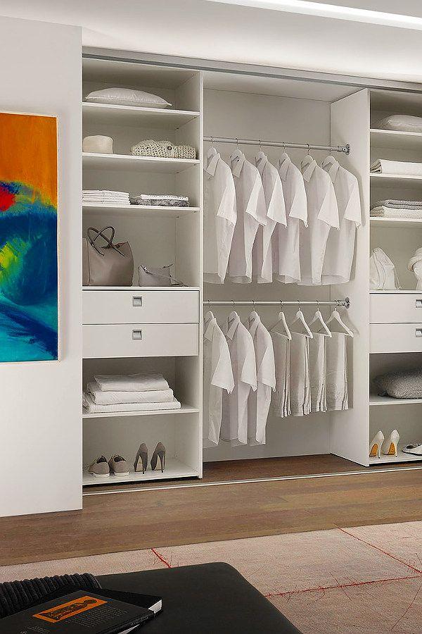 Schrank Organisieren kleiderstange schrank: eine aluminium kleiderstange für den schrank