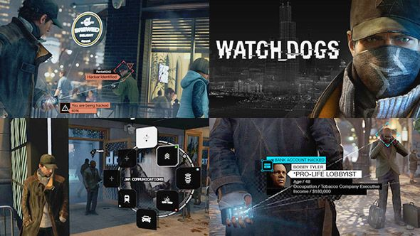 Watch Dogs - Hacking UI