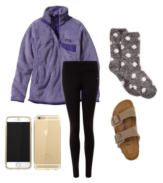 Lazy Day Birkenstock Patagonia And Polyvore Fashion