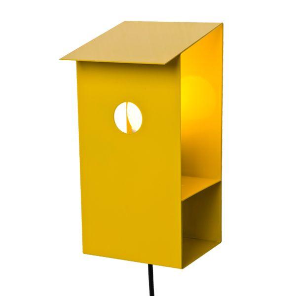 Lintukoto lamp, yellow