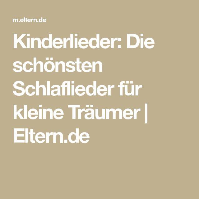 Kinderlieder: Die schönsten Schlaflieder für kleine Träumer   Eltern.de