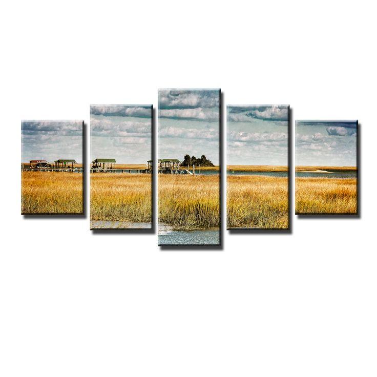 Ready2HangArt Bruce Bain 'Bucolic' 5-PC Canvas Art Set