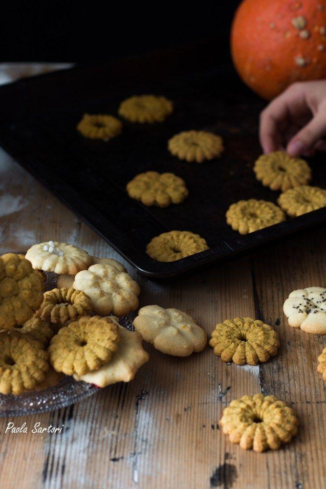 Biscotti alla zucca gluten free
