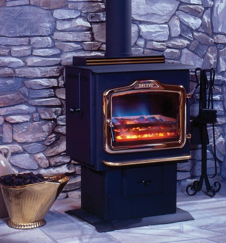 How To Keep A Basement Warm: TLC 2000 Coal And Wood Stove At Black Swan Home