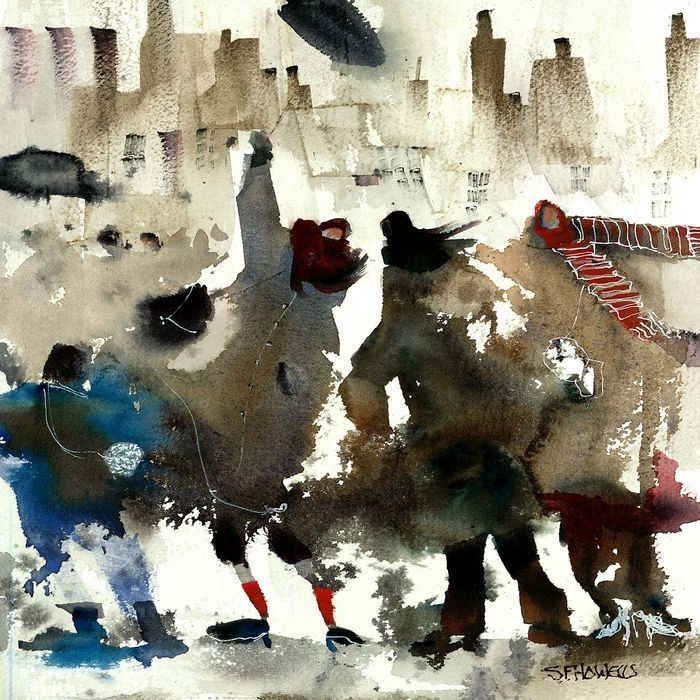 Watercolor paintings by Sue Howells {Part 2}