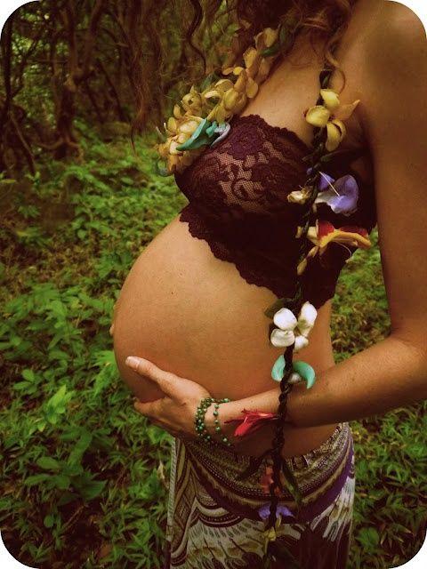 #Boho #Pregnancy #Style... Sweet!