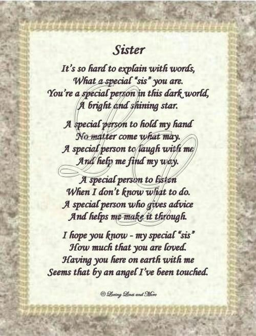 For My Sisters Xx