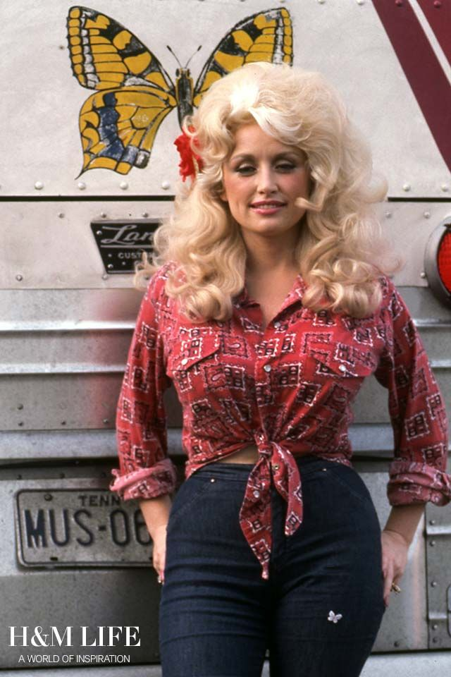 10 style and life lessons from Dolly Parton. | Read more at H&M Life                                                                                                                                                                                 More