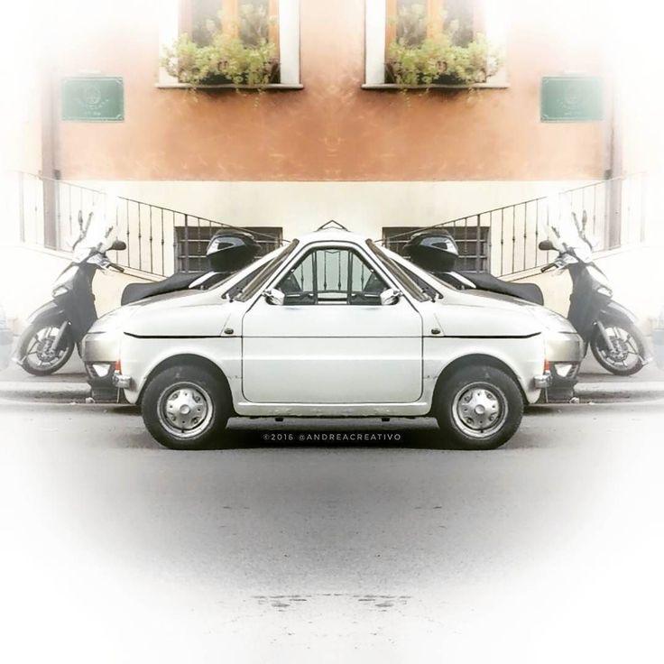 Indecisioni... #Fiat126 a Roma   #igersroma #i