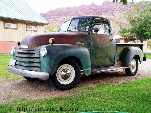 1950 Chevy Truck | Jim McGillis: 1950 Chevy 3100 Half-ton Pickup Truck Becomes an Award ...