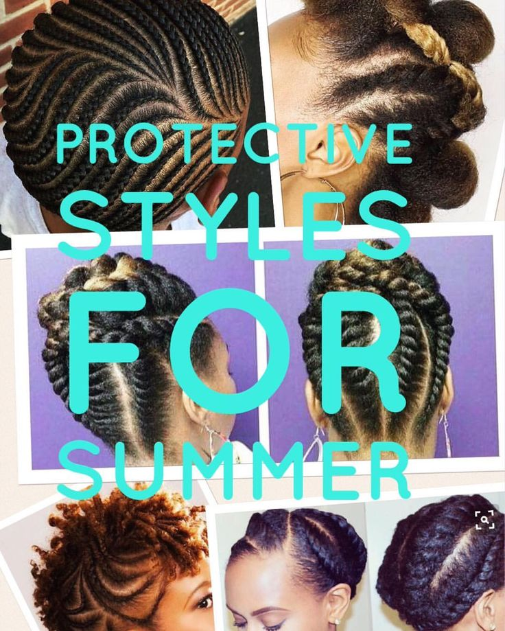 Protective styles for summer @Moriri.AfricanHair