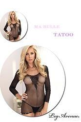 ROBE RÉSILLE MANCHES LONGUES COLLECTION 13 BULLES  http://www.prod4you.com/#!collection-lingerie-13-bulles-by-leg-avenue/cmjq