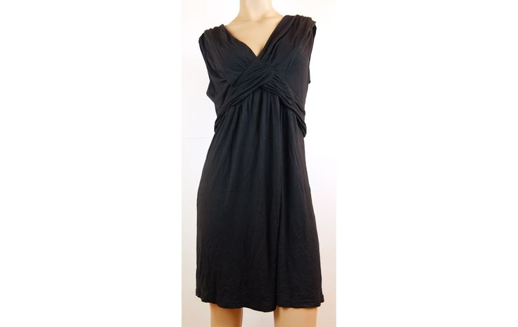 Gina benotti puha fekete ruha 44-es - Női egész ruha - XLruha Molett használt duci ruha - tunika