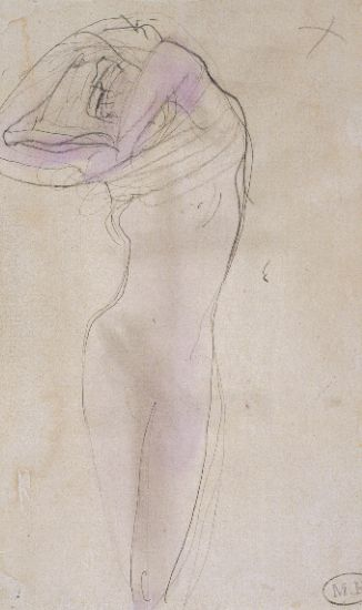 Larryville Artists: Rodin's Drawings: His use of Line