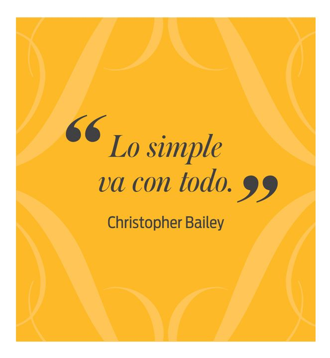 Christopher Bailey  - El Palacio de Hierro