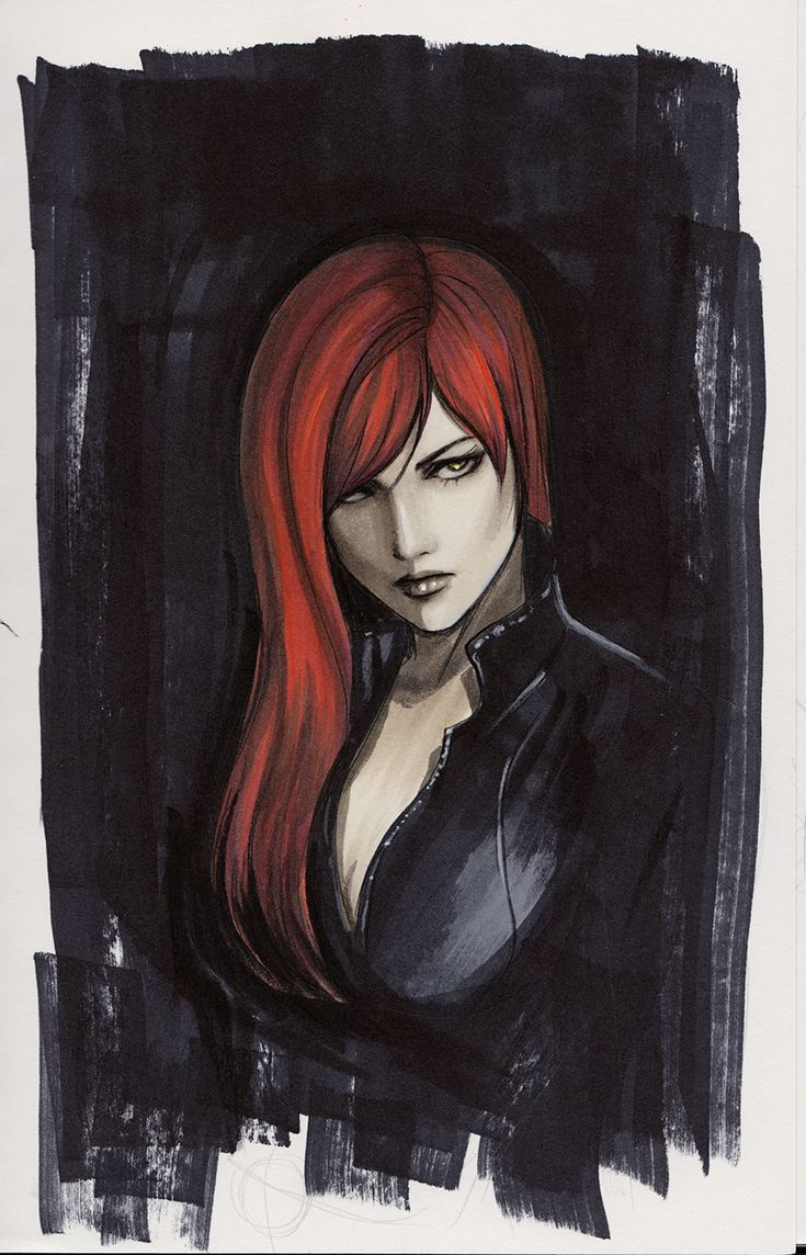 Black Widow by Lynne Yoshii