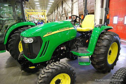 Used John Deere 4120 Tractor