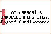 http://tecnoautos.com/wp-content/uploads/imagenes/empresas/hoteles/thumbs/ac-asesorias-inmobiliarias-ltda-bogota-cundinamarca.jpg Teléfono y Dirección de AC ASESORÍAS INMOBILIARIAS LTDA., Bogotá, Cundinamarca, Colombia - http://tecnoautos.com/actualidad/directorio/hoteles/ac-asesorias-inmobiliarias-ltda-cr18-con-calle-93-bogota-cundinamarca-colombia/