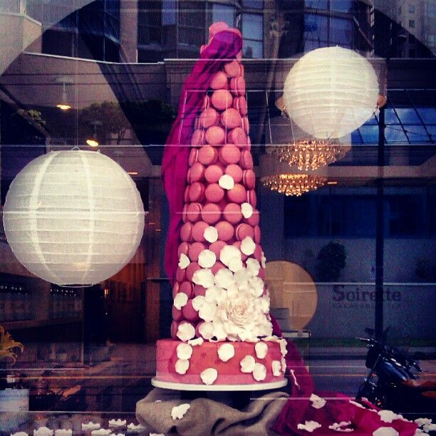 From our kitchen, with love  #soirette #macaron #macarontower